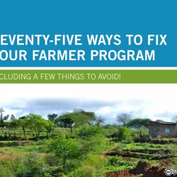 75 ways to fix your farmer program (Anglais)