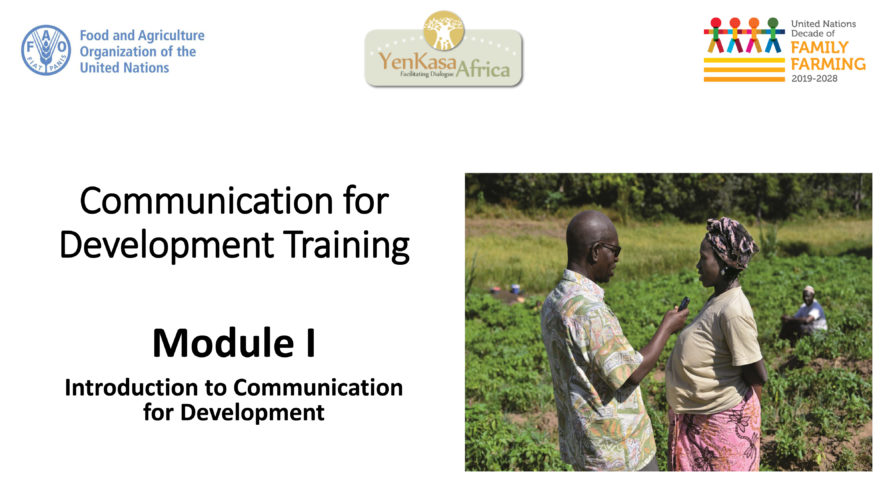 Introduction à la Communication pour le développement